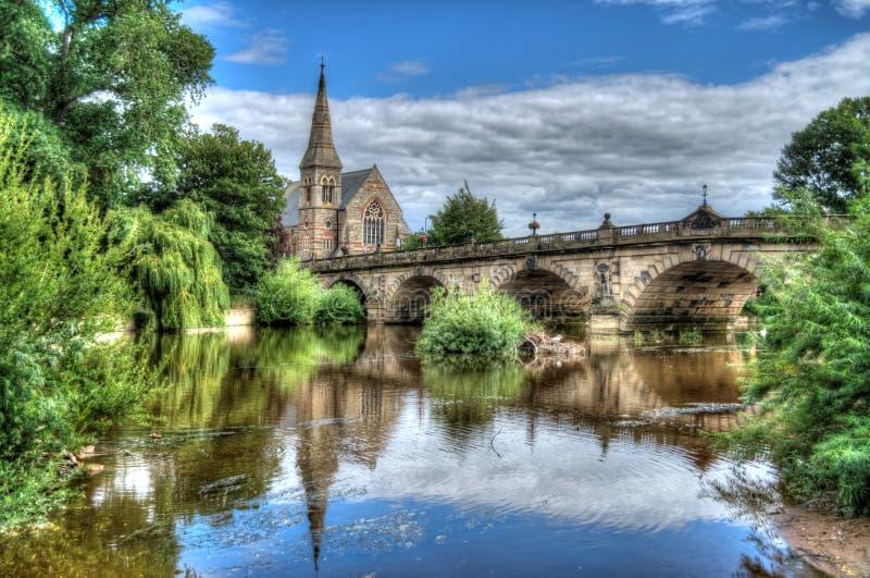Shrewsbury fotografering för bildbyråer