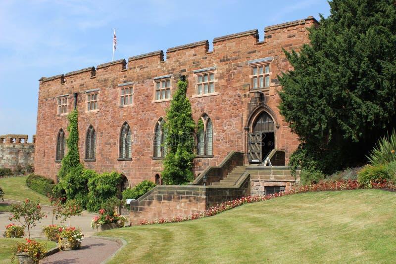 Shrewsbury Castle, Shrewsbury, Shropshire stock photo