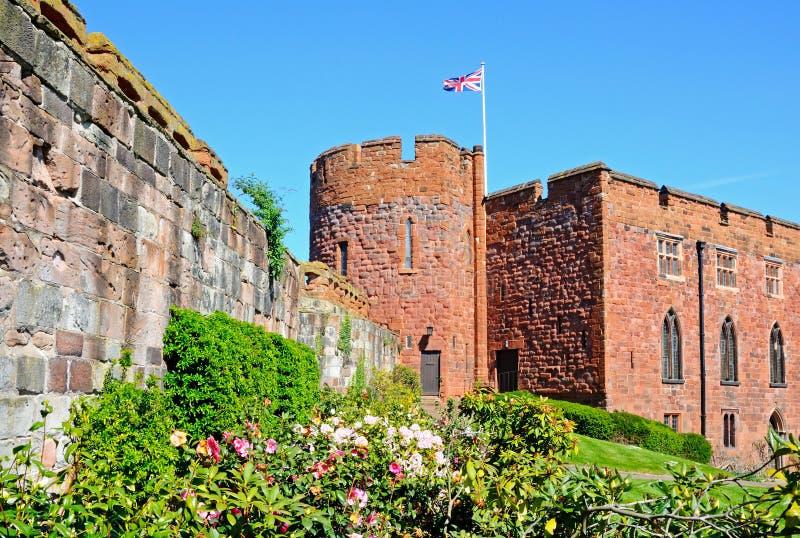 Shrewsbury Castle. stock photos