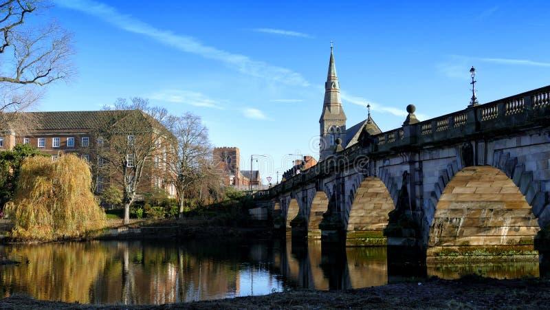 Shrewsbury most obraz royalty free