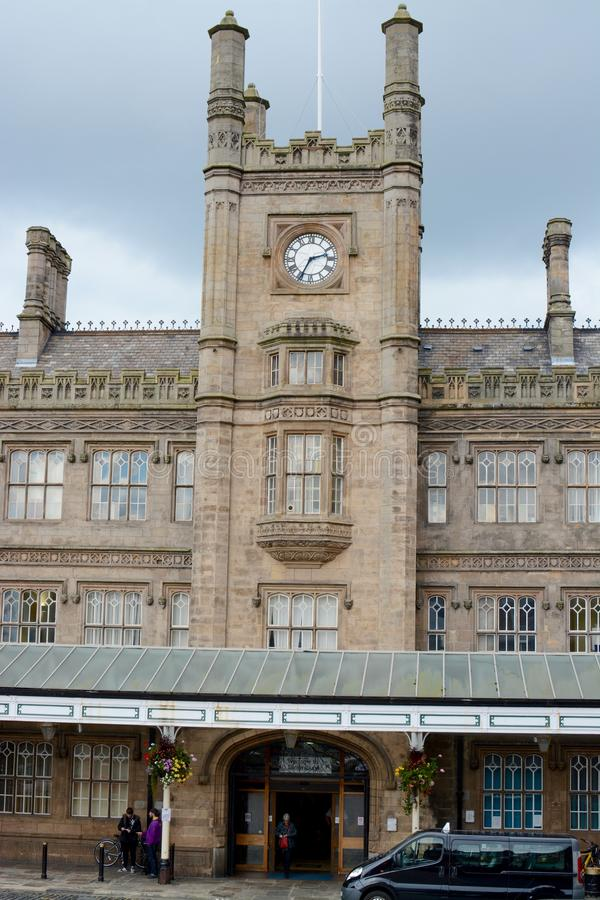 Shrewsbury Railway Station stock image