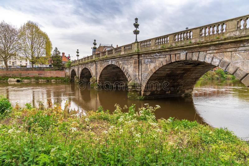 Shrewsbury, Shropshire, England, Großbritannien stockfotografie