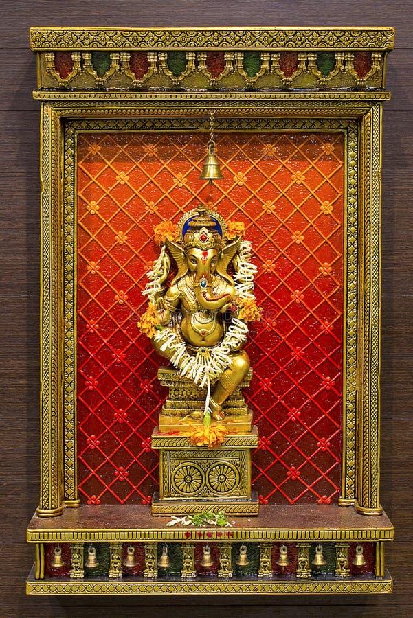 Shri Ganesha阁下神象 库存照片