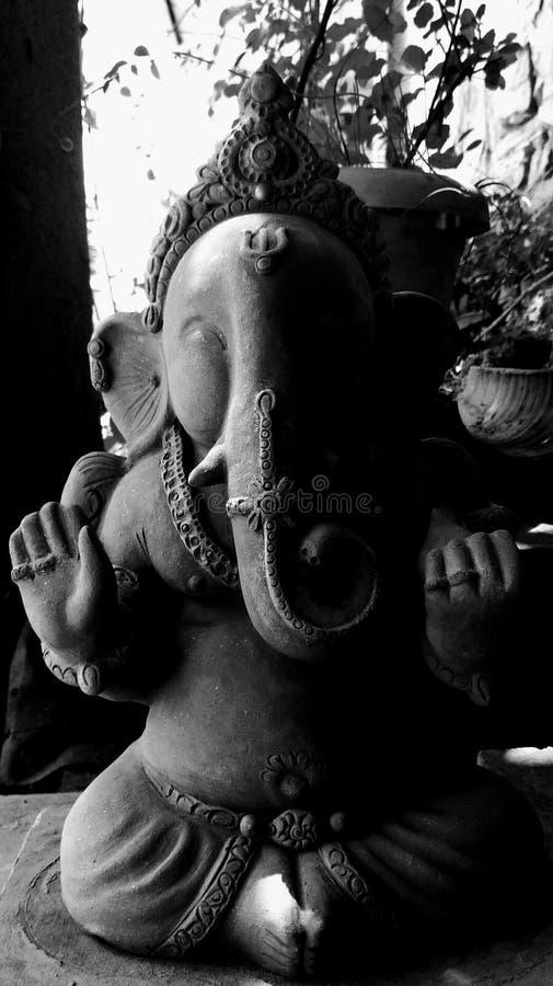 Shri ganeshay namah arkivfoton