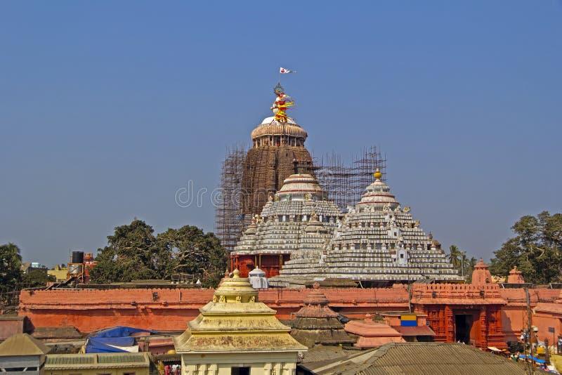 Shri Jagannath tempel royaltyfria bilder