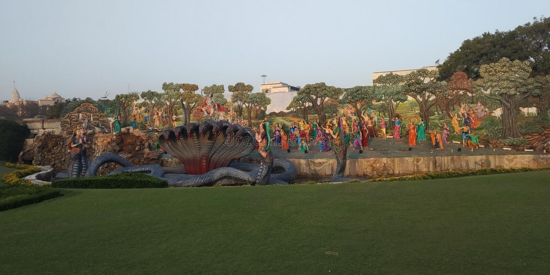 Shri-krishna Steuer-kalia lizenzfreies stockbild