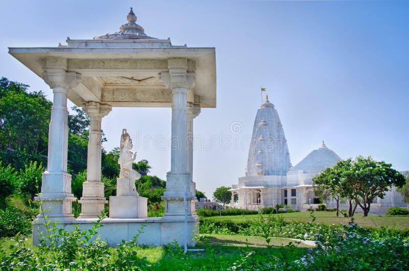 Shri Lakshmi Narayan Temple, Jaipur, Índia foto de stock royalty free
