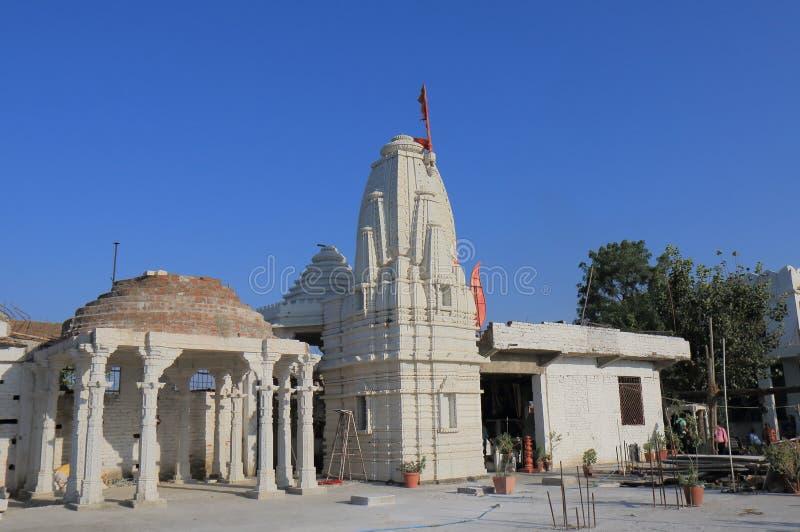 Shri Manshapurna Karni Mata-Tempel Udaipur lizenzfreie stockfotos