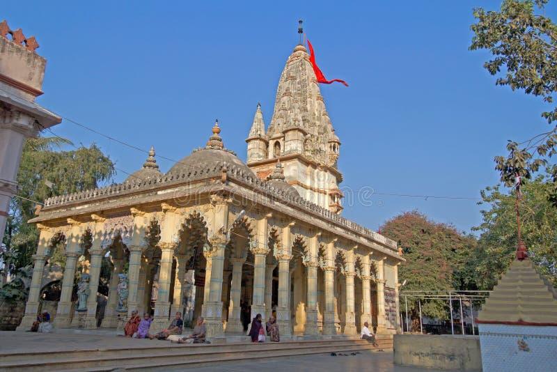 Shri Sudama tempel i Porbandar royaltyfri fotografi