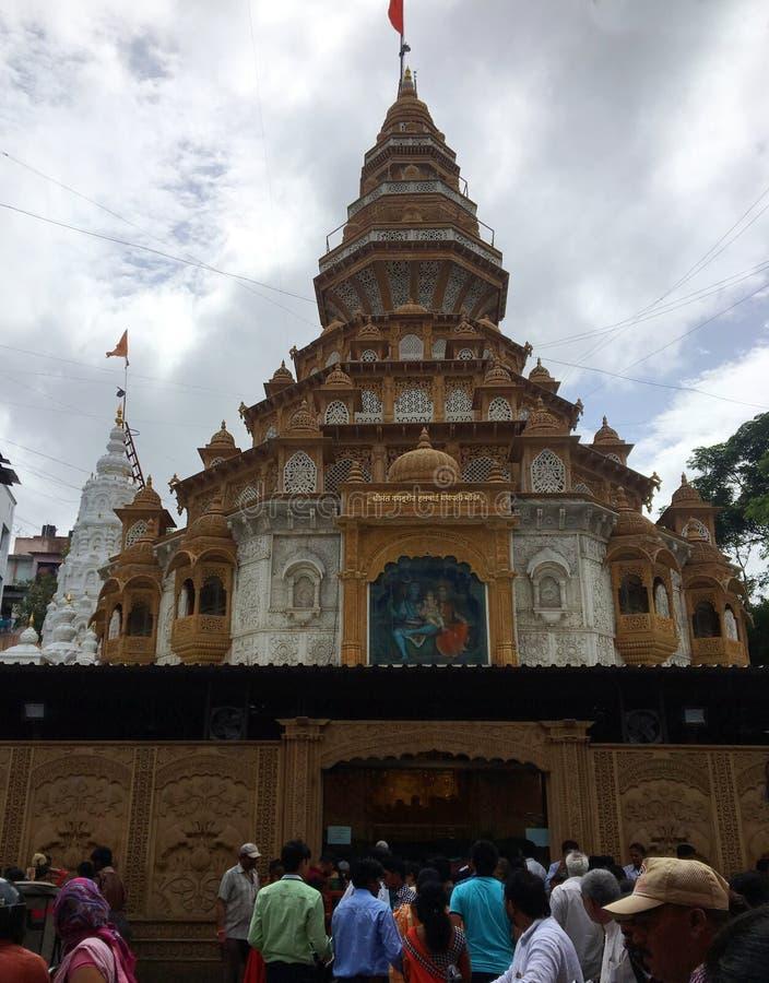 Shrimant Dagduseth Ganesh świątynia, Pune obrazy stock