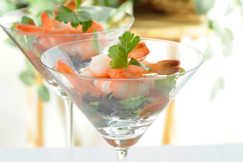 Shrimp Appetizer stock photography