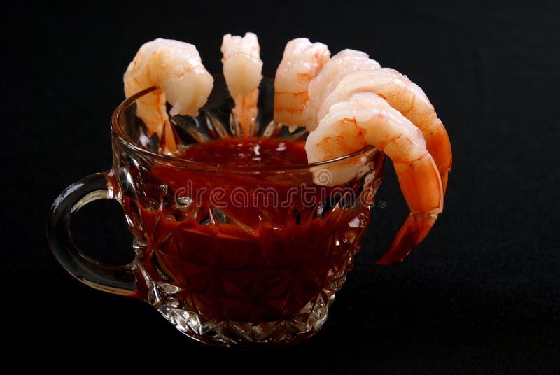 Shrimp Appetizer royalty free stock images