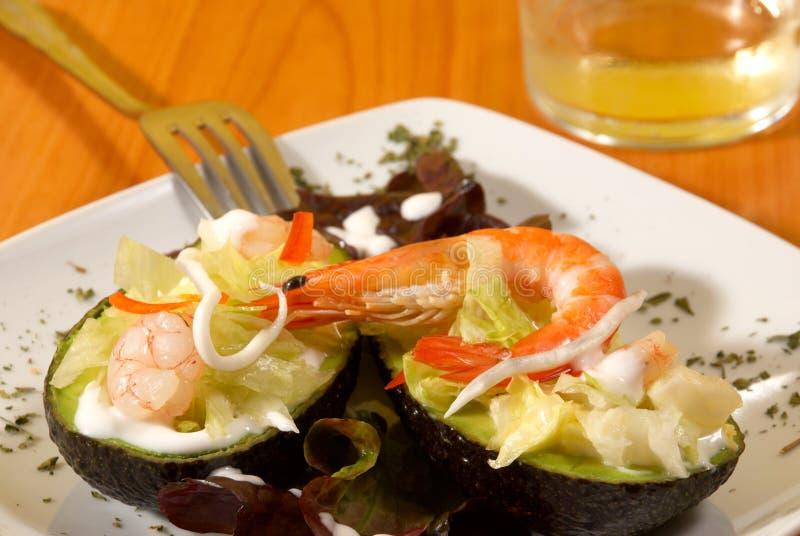 Download Shrimp Avocado Saldad Stock Photos - Image: 14285553