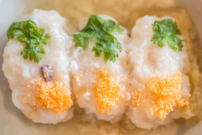 Shrimp Ball Fish Maw stock photography