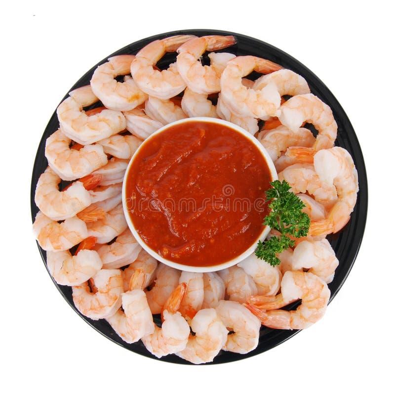 Shrimp cocktail stock photo