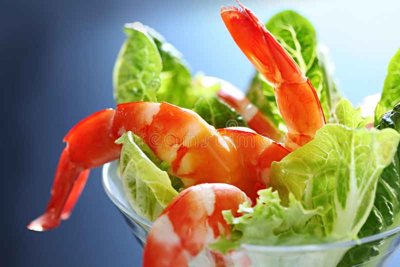 Download Shrimp Cocktail stock image. Image of salad, color, nobody - 9000793