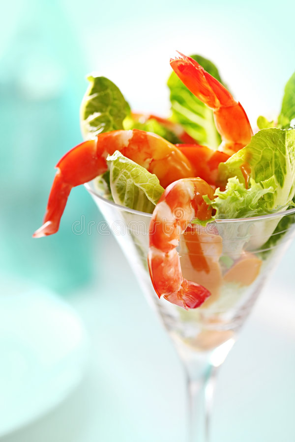 Free Shrimp Cocktail Royalty Free Stock Images - 9000839