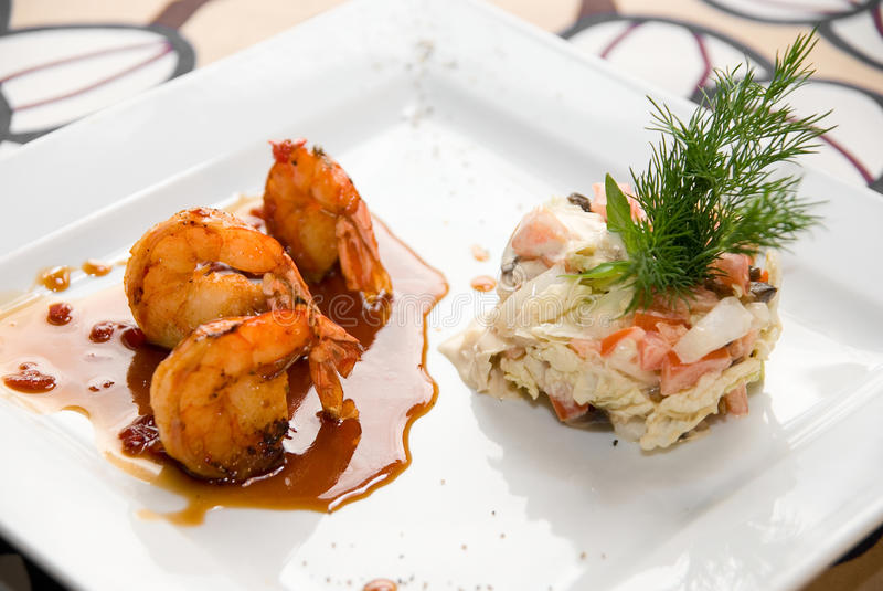 Download Shrimp dish stock image. Image of food, asia, lunch, natural - 9813473