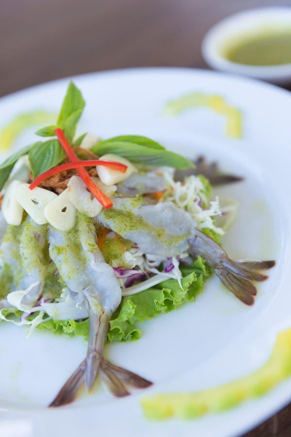 Shrimp in fish sauce royalty free stock image