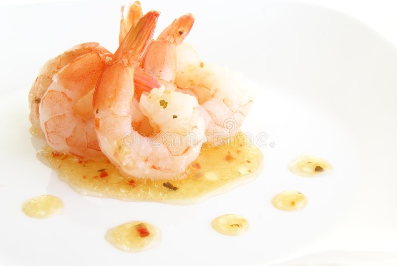 Download Shrimp With Herbs stock image. Image of vitamins, dinner - 6734541