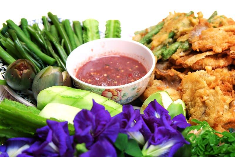 Shrimp Paste or Nam Prik Ka Pi stock photography