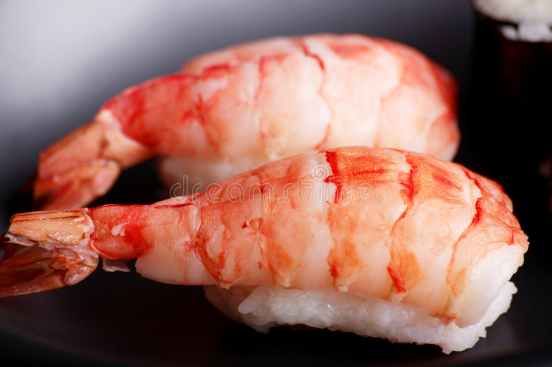 Shrimp red stock images