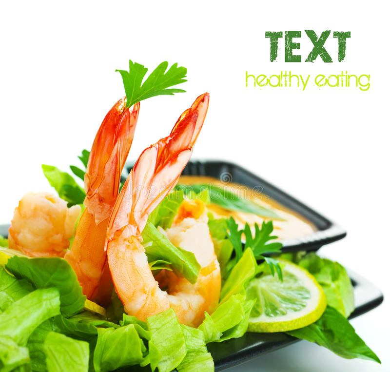 Free Shrimp Salad Royalty Free Stock Images - 22655989