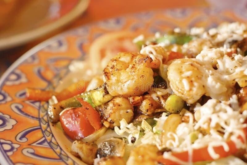 Shrimp Salad royalty free stock image