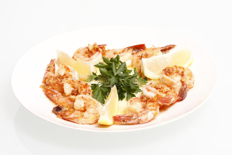 Download Shrimp Scampi stock image. Image of garlic, cooked, italian - 17044411