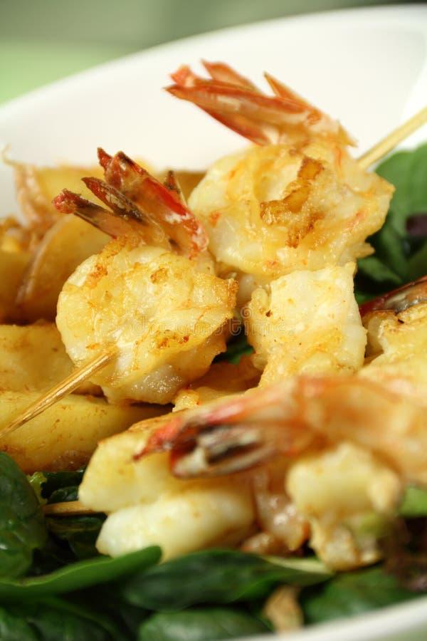 Download Shrimp Skewers stock photo. Image of dining, kebabs, appetizing - 28150970