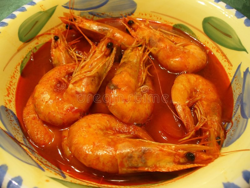 Download Shrimp Soup Royalty Free Stock Image - Image: 522556