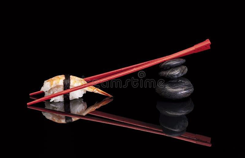 Shrimp Sushi stock images