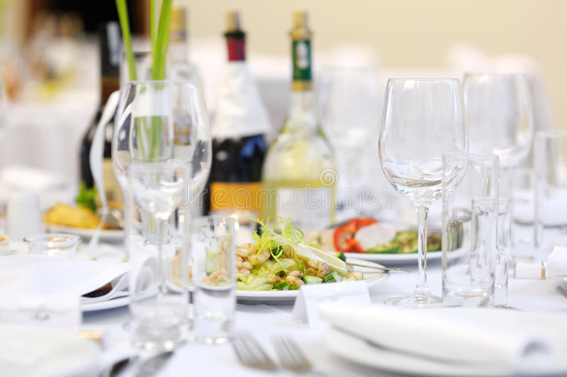 Download Shrimp Table At An Event Party Stock Photo - Image: 18292886