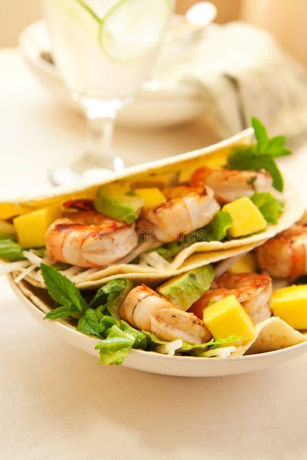 Free Shrimp Taco Royalty Free Stock Photo - 14519355