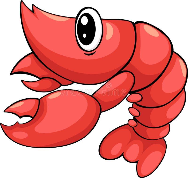 shrimp vector stock vector illustration of illustration 20574700 rh dreamstime com Shrimp and Fish Clip Art Dad Fishing Clip Art