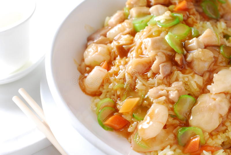 Download Shrimp Vegetable Fried Rice Stock Photography - Image: 27707622