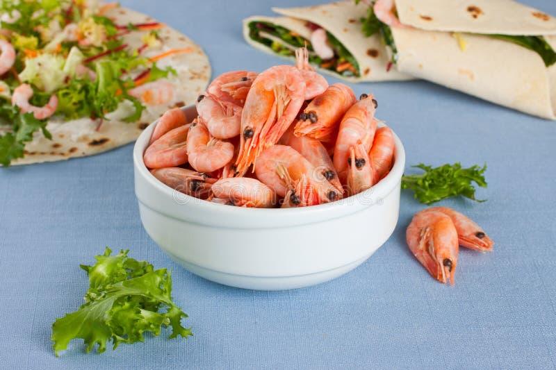 Download Shrimps stock image. Image of food, shellfish, prepared - 28803849