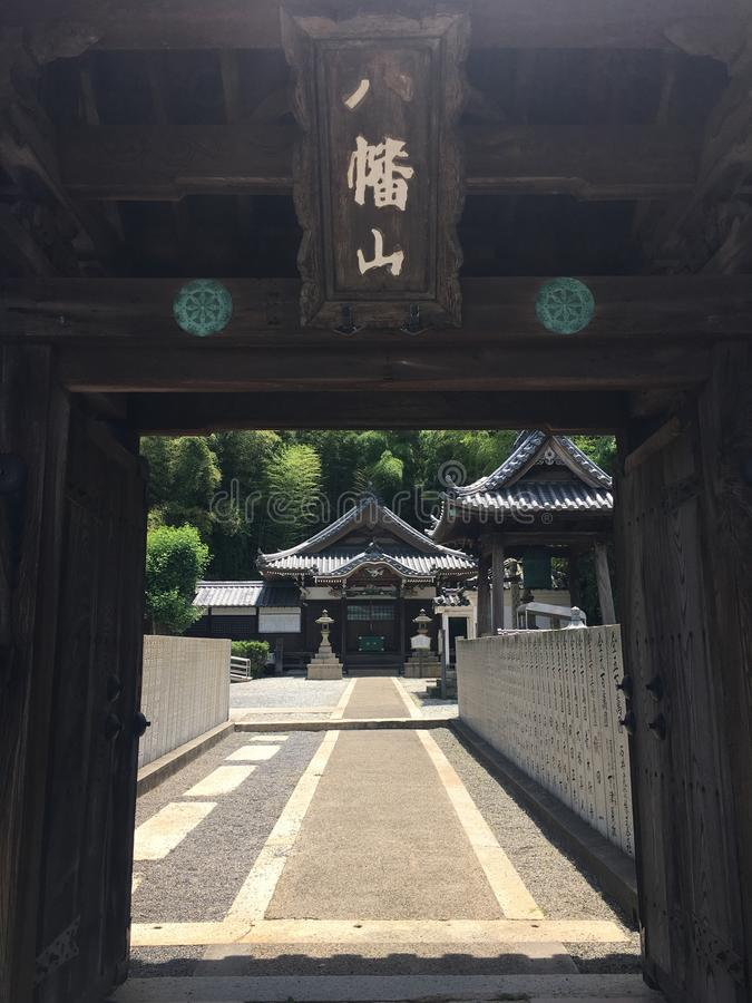 Shrine& x27 είσοδος του s στοκ φωτογραφίες