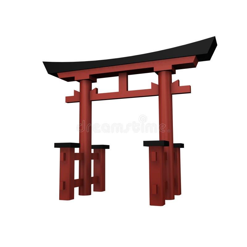 Shrine vector illustration