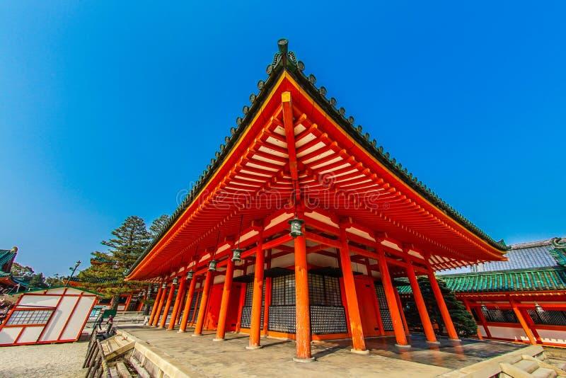 Shrine de Kioto Heian imagem de stock