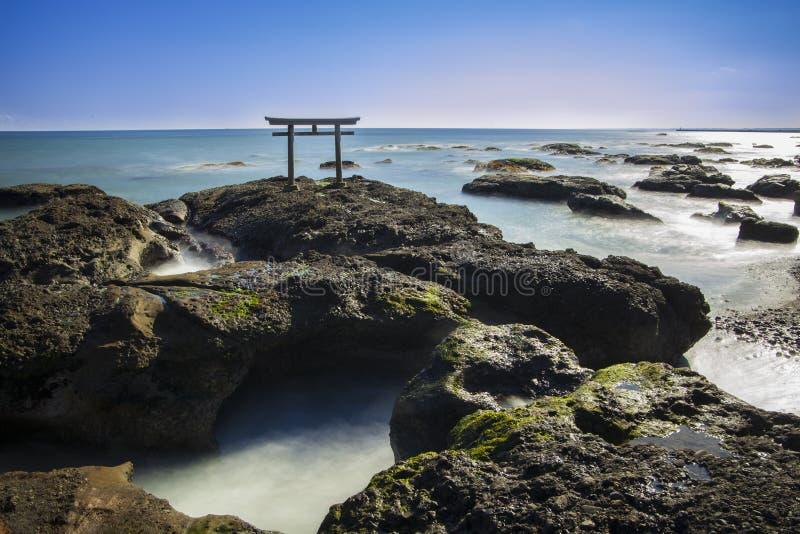 Shrine Gate royalty free stock image