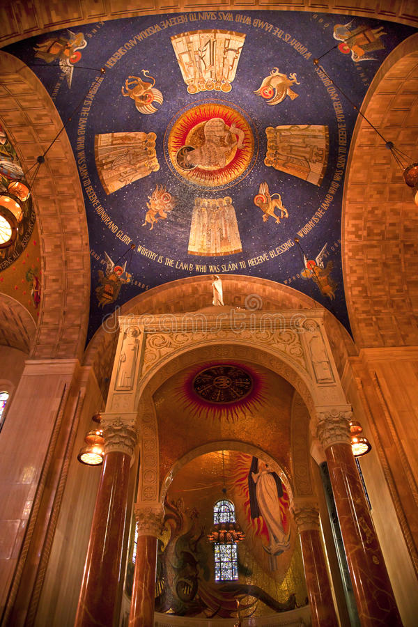 Download Shrine Immaculate Conception Dome Stock Photo - Image: 14497478