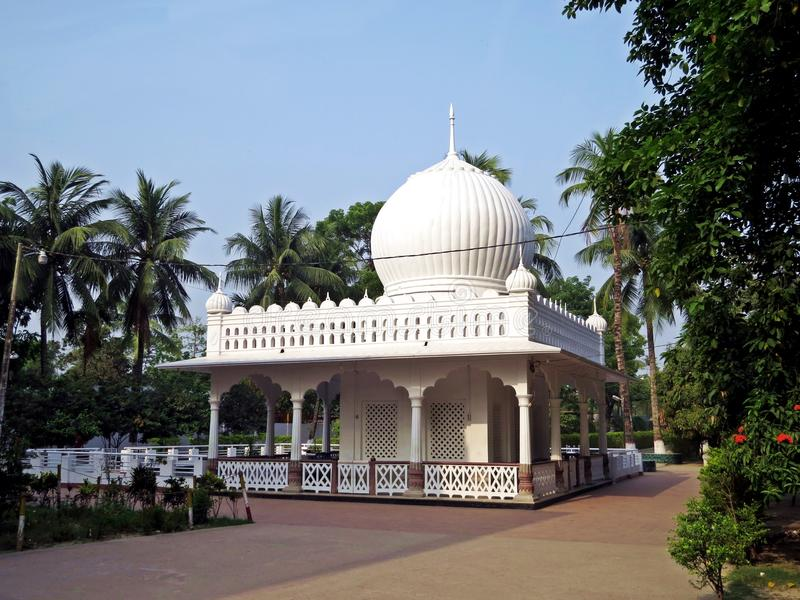 Shrine of Lalon Shah, Kushtia, Bangladesh. Onion domed shrine of poet and musician Lalon Shah, Kushtia, Bangladesh royalty free stock images