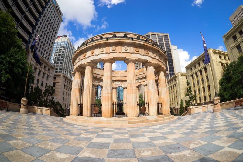Shrine Of Remembrance Brisbane Australia stock photography