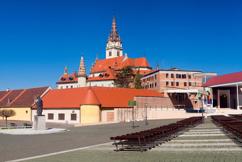 Shrine of Saint Mary of Marija Bistrica, Croatia royalty free stock photography