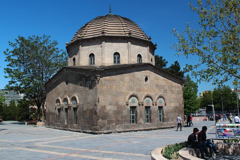 Shrine of Tomb of Zeynel Abidin in Kayseri, Turkey royalty free stock image