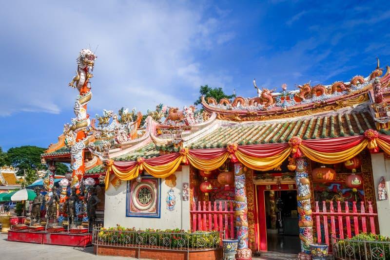 Shrine in Wat Phanan Choeng, Ayutthaya, Thailand. Shrine in Wat Phanan Choeng temple, Ayutthaya, Thailand royalty free stock photos