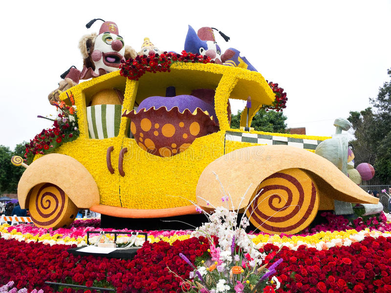 Download Shriners Hospitals 2011 Rose Bowl Parade Float Editorial Photo - Image: 17719011