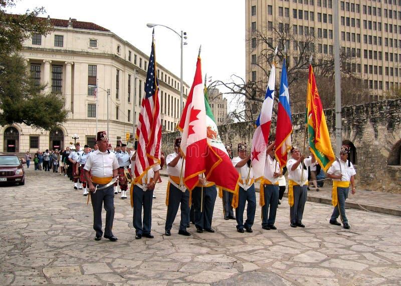 Patriots Parade Patriotic Flag America Tin Metal Sign