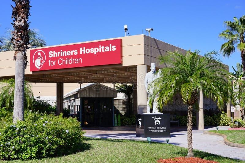 Shriners szpitale dla dzieci fotografia stock